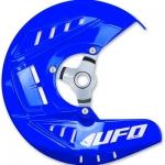 Защита переднего тормозного диска UFO YZ 250F 14-19, YZ 450F 14-19, синяя, YA04851#089