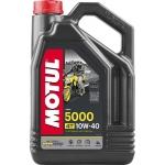 Моторное масло MOTUL 4T 5000 10W40 НС-TECH Technosynthese (4л)