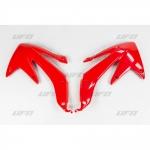 Боковые панели радиатора UFO CRF 450X 08-16, красные, HO04634#070
