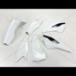 Пластик комплект UFO HUSQVARNA TE-TX-FE 14, белый, HUKIT614#041