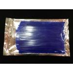 Накладки на спицы 72 шт 24 см, набор, синие
