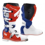 Мотоботы FORMA, TERRAIN TX WHITE/RED/BLUE 46