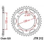 Звезда задняя JT, 312.40