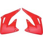 Боковые панели радиатора UFO CRF 450R 02-04, красные, HO03693#070