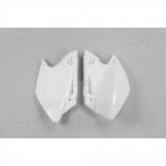 Боковые панели UFO KX 250F 06-08, белые, KA03768#047