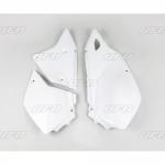 Боковые панели UFO DRZ 400E 00-19, белые, SU03979#041
