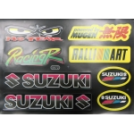 Наклейки комплект SUZUKI NO FEAR 5872