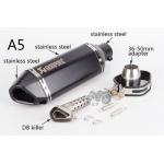 Глушитель для эндуро/кросс черный (черный) 370 мм.