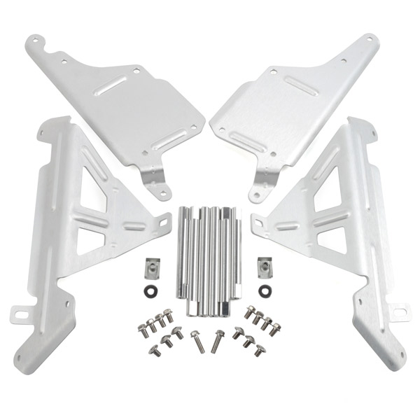 Защита радиатора ZETA Radiator Guard YZ250'05-, YZ250X'16-, ZE52-2307