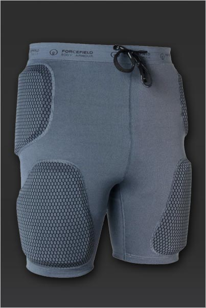 Шорты для мотокросса FORCEFIELD ACTION SPORT PADS GREY XL