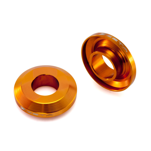 Втулки заднего колеса ZETA Fast-RearWheel Spacer KTM125-450SXF '13- Orange, ZE93-2503