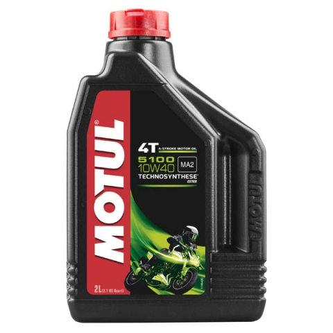 Моторное масло MOTUL 4T 5100 10W40 Technosynthese (2л)