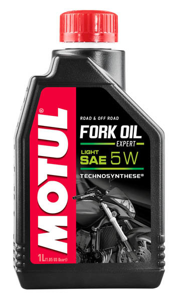Масло вилочное MOTUL Fork Oil Expert light 5W, Technosynthese (1л)