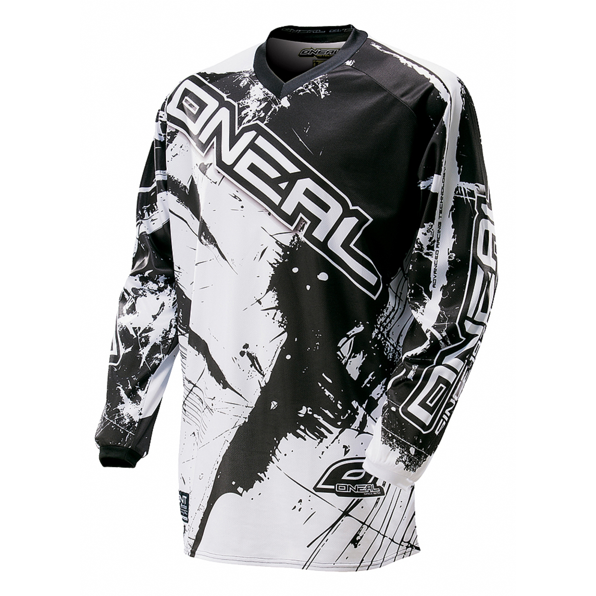 Джерси Oneal Element Shocker black/white XL, 0024S-615