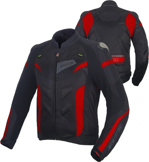 Куртка Benkia, HDF-JW22 Black/Red 3XL