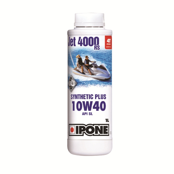 Масло IPONE 4T JET 4000 RS 10W40 - 1 л